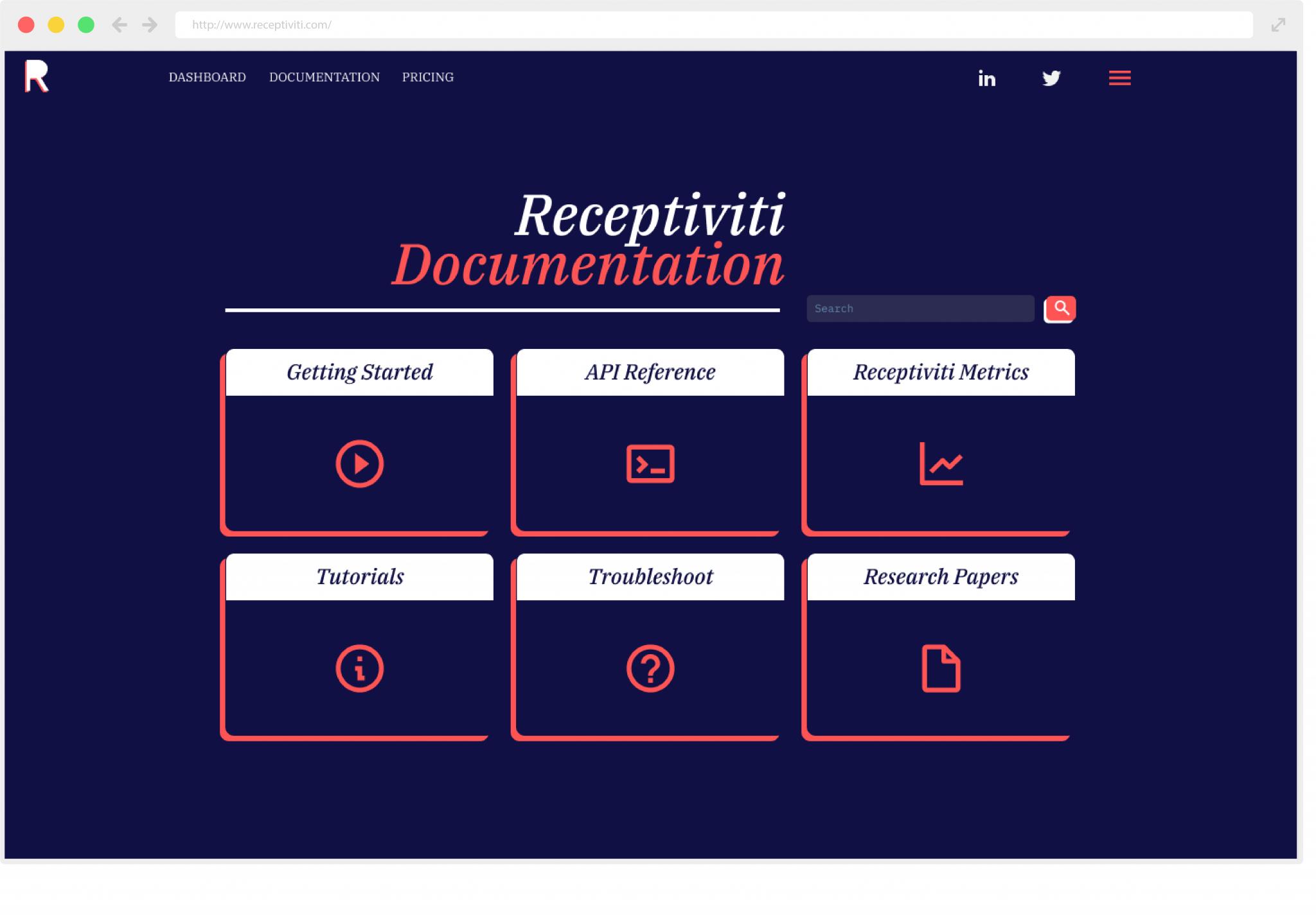 Documentation - Category Icons